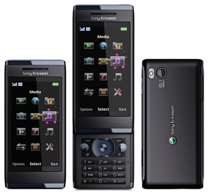 Слайдер Sony Ericsson SATIO